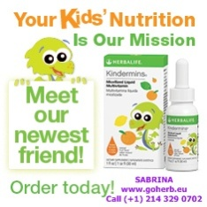 PARENTS! Take care of your kids' HEALTHY NUTRITION. These tailor- made Herbalife KIDS Nutrition products will help you.